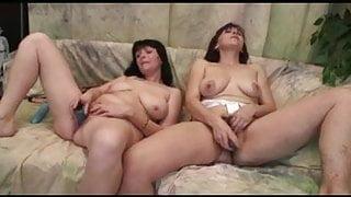 A couple of older lesbians