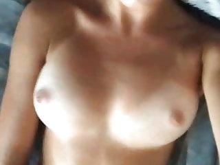 Hot naked wet girls Hot naked brunette used a vibrator on herself, homemade vid