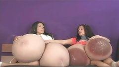 Monica & Vanessa's Big Fake Tits