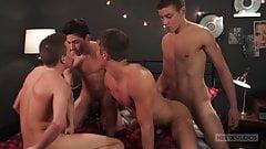 Four Play: Logan Cross, Brad Chase, Aiden Garcia and Corbin