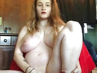 H cup holly nude Pregnant redhead play