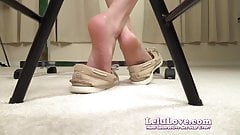 Lelu Love-Closeup Soles ShoePlay