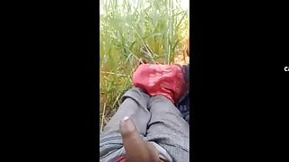 Desi bhabhi in the jungle – Blowjob and cum swallowing