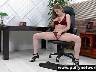 Bet lesbian sex video - Bet you wish your secretary would do this