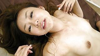 Japanese darling Hirota Sakura got fucked, uncensored