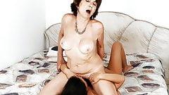 Old woman Katala and Anina Silk
