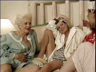 Old lesbians in orgy - Its an older lesbian orgy