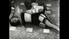 Bettie Page Pin Up Beauties Fight Fetish BDSM Spanking film