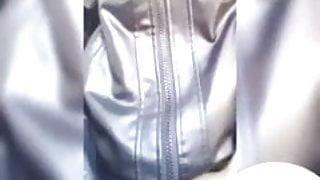 FisherXXX My Friend Leather jacket jerk off