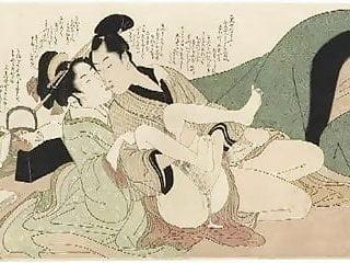 Cartoon porn art work Shunga art 3 - kitagawa utamaro