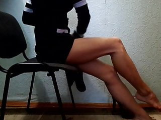 Females wearing pantyhose and heels - Wearing nylon tights and heels on my legs