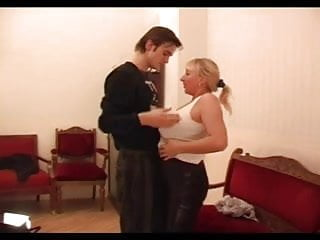 Chubby fuck young clips - Chubby russian amateur-bbw-milf fucked by young guy