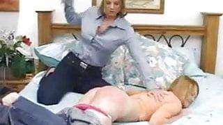 StepMom Spanks Her Little Girl