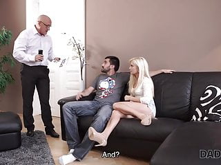 Sonny with a chance nude Daddy4k. fat old dad gets a chance of making love to sons gf