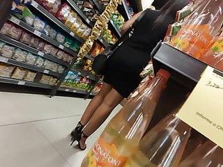 Black market sex videos Big ass black dress hot girl in the market