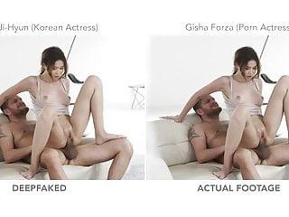 Busty american actresses Korean actress tape