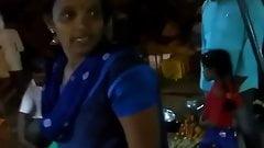 Saree aunty ass overbending-6