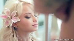 Sunny Hawaiian Blonde Blowjob