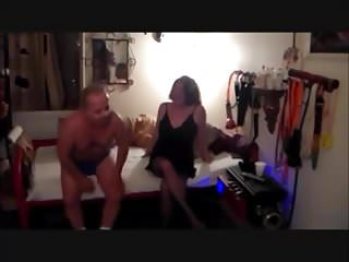 Ladyboy bisexual sissification films - Bisexual cuckold cleans up and films