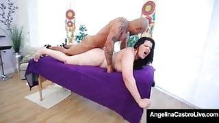 Angelina Castro. Black Rooster Rais Samara Massage