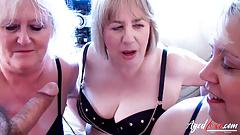AGEDLOVE Hard Fuck of Three True Horny Matures