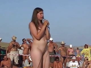 Howard stern porn star beauty contest - Russian girl dance at nudist beauty contest