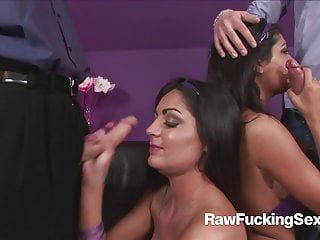Extreme sex foursome clips Raw fucking sex - foursome with kat lee