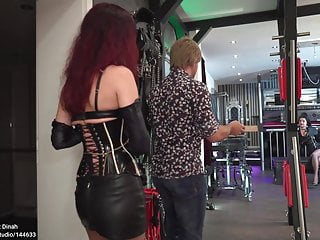 Hot redhead milf dominatrix facesitting clips - Dinah dominatrix lady fabiola c4s studio 144633