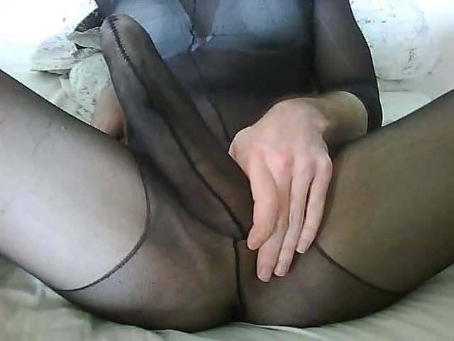 Huge Cock Cum On Pantyhose