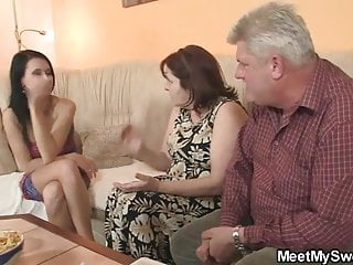 Nasty fucking girls Nasty girl fucking with her bf old parents