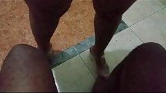 Melissa de saltinho no pe da casada jelly sandal