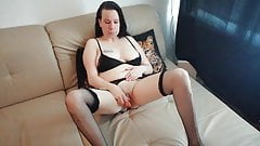 Playing on the couch with my wet pussy