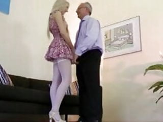 Locking breast forms Horny blonde babe gets pussy fucked form this old guy