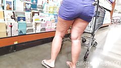 Candid thick white milf