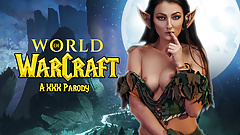 Night Elf Katy Rose Gets Her Ass Fucked In WOW Parody