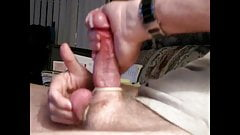 Backhand Masturbation with Ball Massage