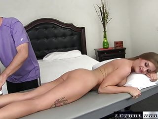 Free erotic massage videos non restricted - April gets erotic massage and fucked by step brother