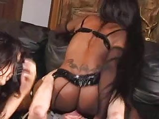Ebony ass tickle Dominated by a big black ebony ass
