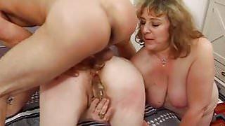 Mature hard anal some