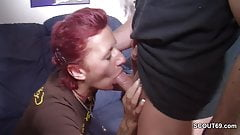 Step-brother Seduce stepsister to First Fuck without Condom