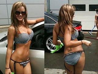 Big tits in tiny bikinis - Sarka kantorova stripper tiny bikini showin ass