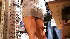 Upskirt Girls With Miniskirts And Shorts In Mall