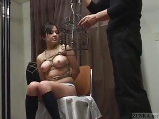 Big bird nude old Subtitled japanese cmnf bdsm nose hook bird cage play