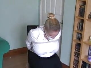 Milf tied tgp Busty milf tied to chair
