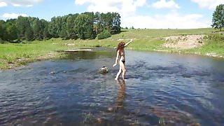 Play with Derzha-river