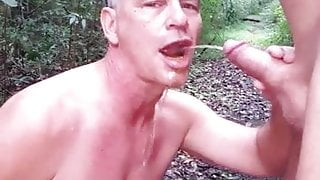 Drinking another guys piss