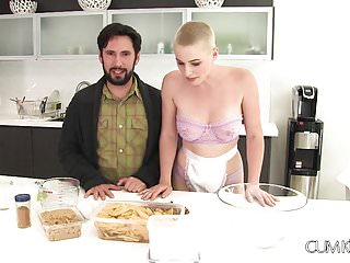 Gramma son fuck - Cumkitchen grammas apple pie daddys pistol riley nixon