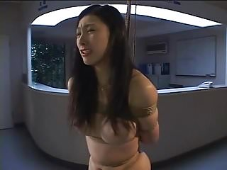 Fuck til she cries Arimi mizusaki is bound, gagged and whipped until she cries