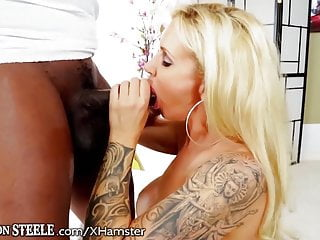 Big gay black dick videos Ryan conner opens her ass for huge black dick