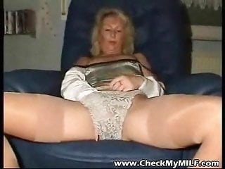 Mature nude mom in stocking - Check my milf granny wife in stocking and shaved pussy